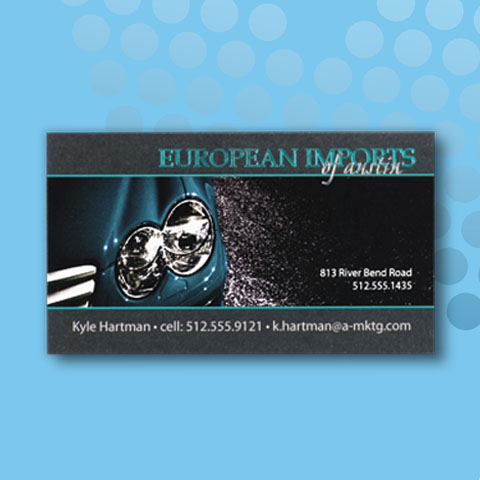 Business Cards - Digital + Foil