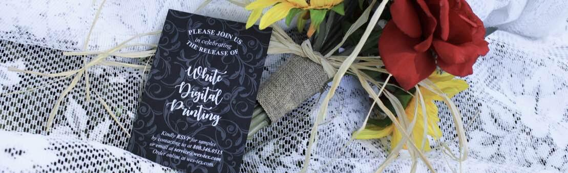 White Ink Wedding