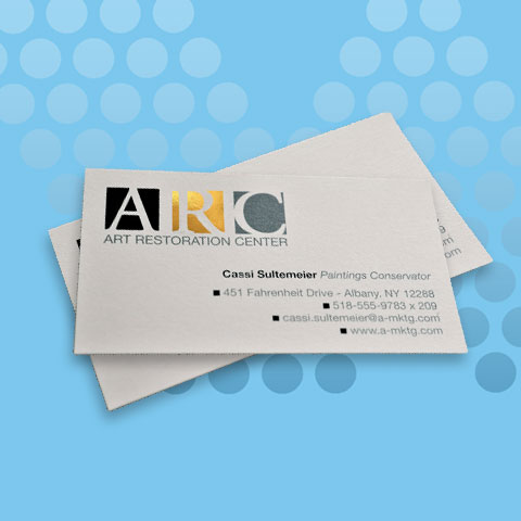 Business Cards - Sim Spot + Foil
