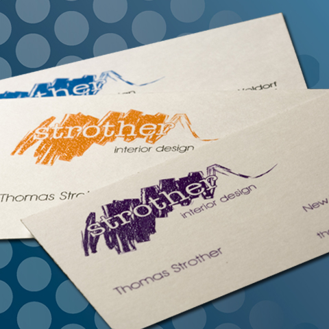 raised ink business cards - Raised Lettering Business Cards
