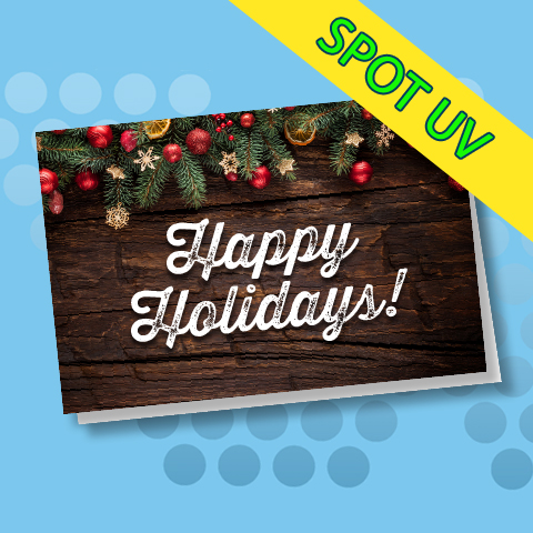 Silk Holiday Cards - Offset