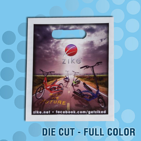 die cut full color